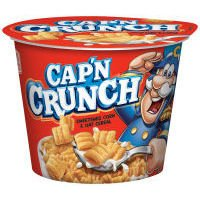 Cap'N Crunch's Single Serve Cereal Cups, 1.51 Oz