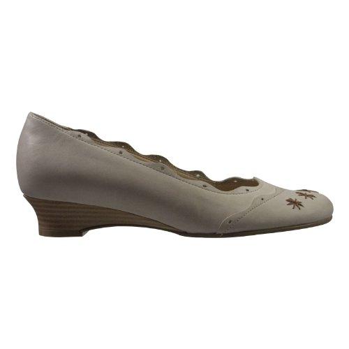 Simona 10471-152 Damen Schuhe Premium Qualität Trachten Pumps Beige (Beige)
