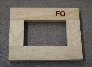 クレサン 桐材木枠 F0号 60本セット   B00IXOLPQS