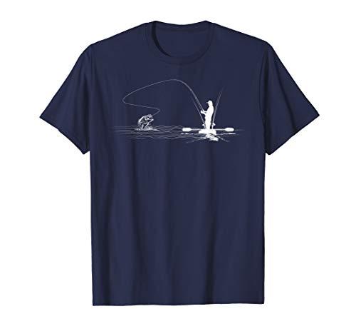 - Kayak Bass Fishing T Shirt Kayak Angler Largemouth Tshirt