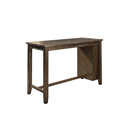 Hillsdale Furniture Rectangular Counter Dining Table in Dark Espresso Finish