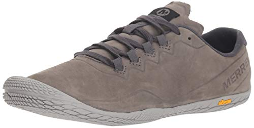 (Merrell Women's Vapor Glove 3 Luna Leather Sneaker, CHARCOAL, 10.5 M)