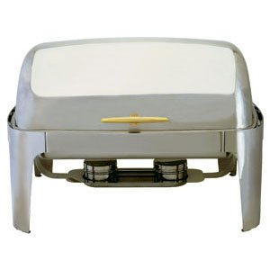 Gold Accented 180 Roll Top Full Size (Gold Accented Roll Top Chafer)