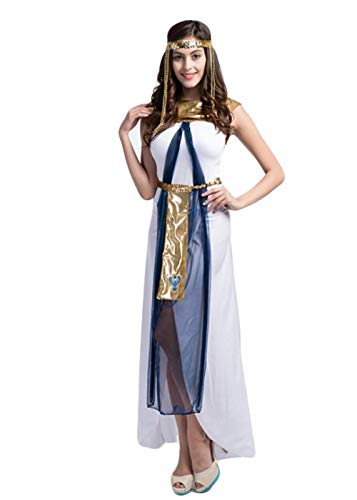 Women's Halloween Costume,National Arab Long Dress,Christmas Theme Party Carnival Cosplay Costume (001)