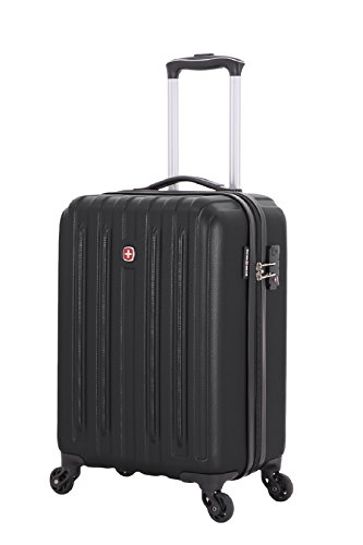 Swiss Gear Polycarbonate 19 inches Black Hardsided Cabin Luggage  SW30000202154
