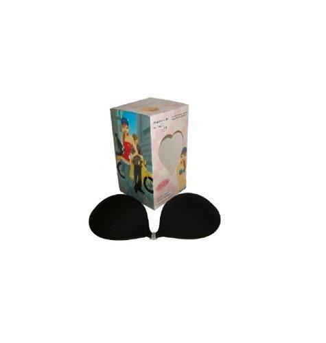 Nubra Sheer Bra (NuBra Feather-Lite Bra Featherlite BLACK Bra (D Cup))