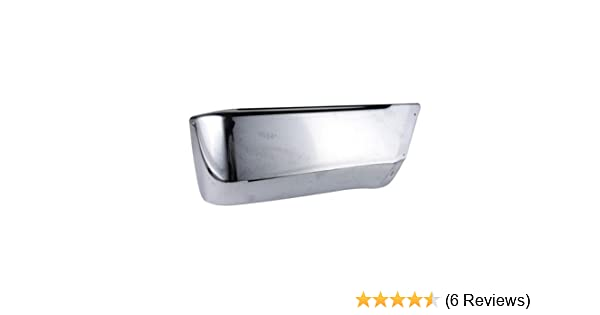 CarPartsDepot 355-44188-22 Rear Bumper End Side Cover Replacement W// Flare Hole Chrome Right TO1105103