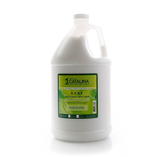 Essentials by Catalina A, C & E Lotion Base 1 Gallon (Best Homemade Body Lotion)