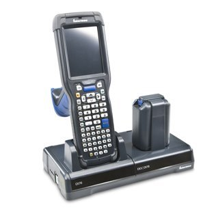 Intermec Receipt (Intermec DX1A02B10 Desktop Dock for Series CN70/CN71 Mobile Computer, Includes NA Power Supply and Cord, Flex Dock, Holds 1 Mobile CPU)