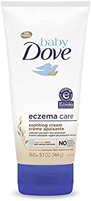 Baby Dove Soothing Cream To Soothe Delicate Baby Skin Eczema Care No Artificial Perfume or Color, Paraben Free