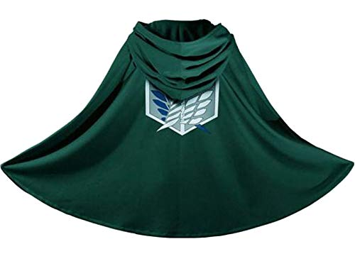 Generic Japan Anime Shingeki No Kyojin Cloak Attack on Titan Cosplay Cloth Green for $<!--$10.55-->