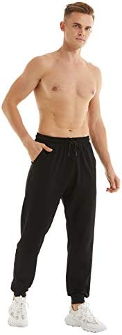 yuyangdpb Men's Athletic Joggers Pants Running Pants Cotton Sweatpants with Pockets 2