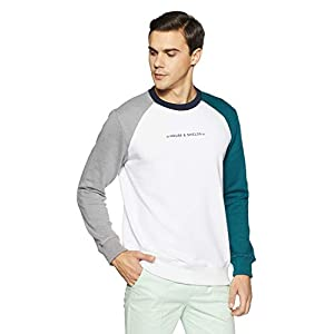 Amazon Brand – House & Shields Men's Cotton Blend Sweatshirt