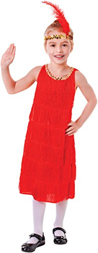 Small Red Girls Flapper Dress (Flapper Girls Dresses)