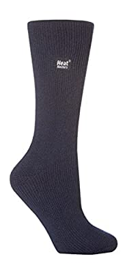 Heat Holders - Women's Original Ultimate Thermal Socks, One size 5-9 us (Indigo Blue)