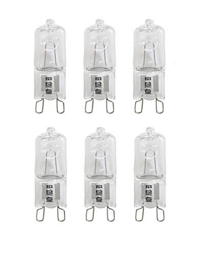 (VSTAR G9 Halogen Bulb, 40-Watt 120-Volt Base G9 Halogen Bulb (6pack))