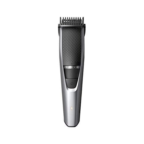 chollos oferta descuentos barato Philips BEARDTRIMMER Series 3000 Barbero BT3216 14 Depiladoras para la barba 0 5 mm 1 cm 3 2 cm 0 5 mm Barba larga Barba corta Estilo barba de tres días Gris Metálico Plata