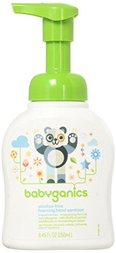 Babyganics Alcohol-Free Foaming Hand Sanitizer - Fragrance Free - 8.45 oz