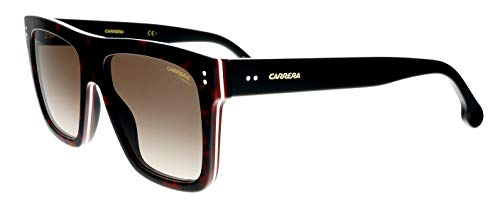 Carrera 1010/s Rectangular Sunglasses, DKHAVANA, 55 mm