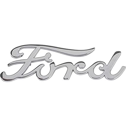 Amazon com: MACs Auto Parts 60-20003 Ford Script Emblem