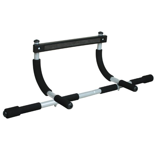 Iron Gym Total Upper Body Workout Bar (Iron Gym Pull Up Bar Ab Straps)
