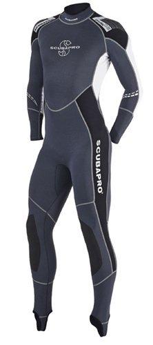 ScubaPro Profile Men's 0.5mm Wetsuit (Black / Gray / White, - Sizing Wetsuit Guide