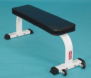 TDS Flat Bench with Wheels by TDS