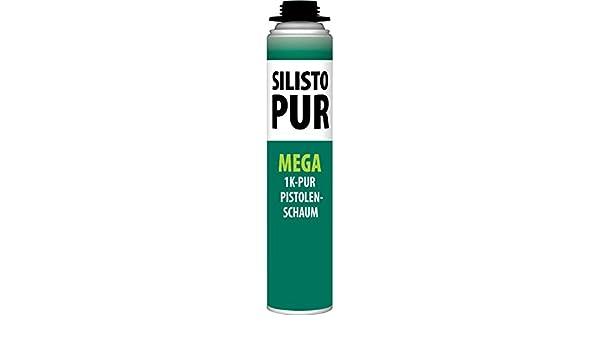 silisto Pur 1 K Mega Espuma aprox. 500 ml 43L ausbeute: Amazon.es: Bricolaje y herramientas