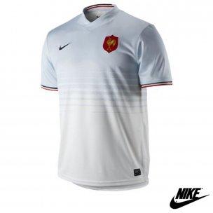 b1221ed4c3 Nike Maillot Rugby Homme Equipe De France Tailles XXL Couleur Blanc:  Amazon.fr: Vêtements et accessoires