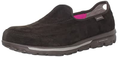 Skechers Performance Women's Go Walk Autumn Slip-On Walking Shoe,Chocolate,5 M US