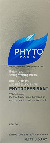 PHYTODÉFRISANT Botanical Smoothing Balm | Paraben Free & Sulfate Free | Heat - Activated, Sleek Blowout, Anti-Frizz, Hydrates | For Unrully, Frizzy Hair |Heat Damage Protector | Silicone Free by PHYTO (Image #2)