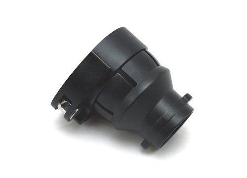 Black Spyder T-Lock Clamping FeedNeck No Holes ()