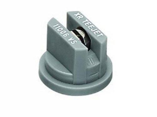 TeeJet XR11006VS Extended Range Spray Tip, 0.37-0.73 GPM, 15-40 psi, Stainless Steel - Grey ()