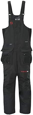 StrikerICE Men's Climate Bib, Fishing Pants for Cold-Weather Conditions, Sureflote Technology, XL, B