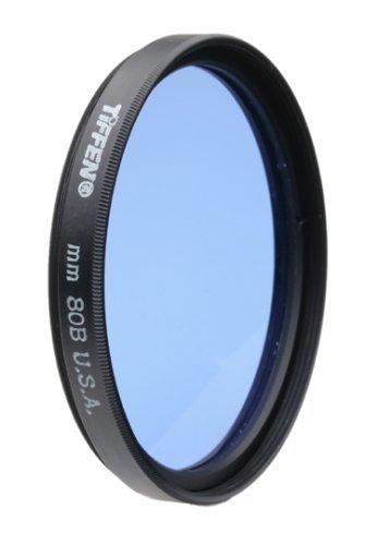 Tiffen 77mm 80B Filter by Tiffen