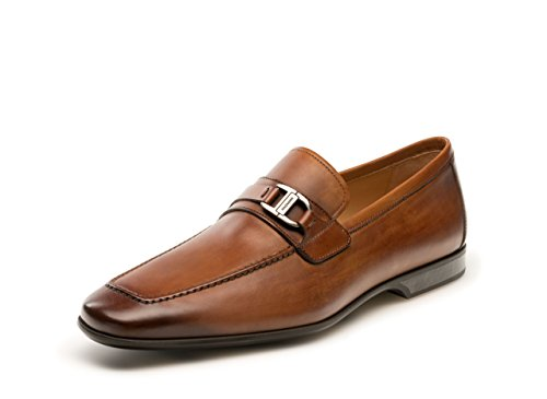 029a2546587 Magnanni Reva Cognac Men s Loafer Shoes Size 12 US from Magnanni