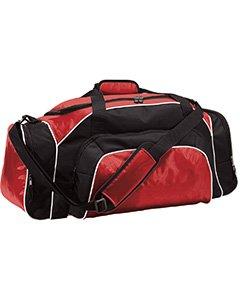 - League Heavyweight Oxford Nylon Duffel Bag from Holloway Sportswear