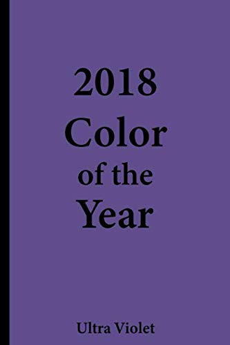2018 Color of the Year – Ultra Violet: College Ruled Notebook ()