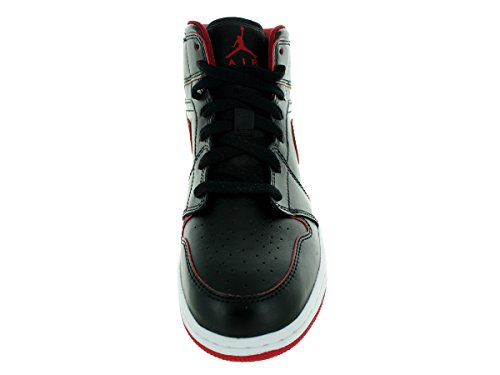 Air Blanco garçon Red de Multicolore Rojo Chaussures NIKE BG 1 Mid white Jordan Sport gym Black Black Negro SwxfqdP