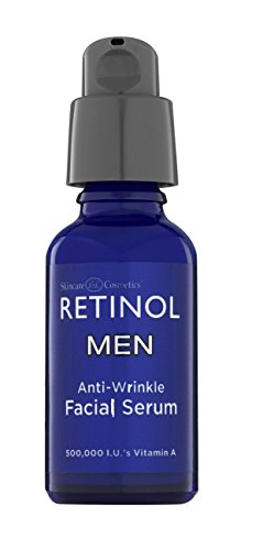 Price comparison product image Retinol Men's Anti-Wrinkle Facial Serum – The Original Retinol Anti-Aging Men's Formula For Younger Looking Skin – Vitamin-Enriched To Smooth Fine Lines & Wrinkles, Improve Tone & Promote Firmness