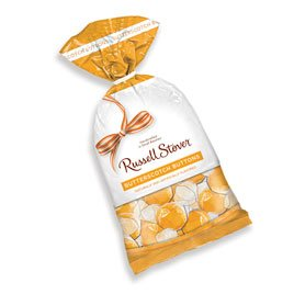 Russell Stover Hard Candies Butterscotch Buttons  12 Ounce Bag Russell Stover Butterscotch Buttons Hard Candy, Traditional Rich Butterscotch Hard Candy Bag, Individually Wrapped