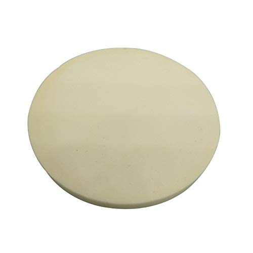 Dia 84mm x 7mm 99% Alumina Ceramic Crucible Round Cover Board 1600 C ()