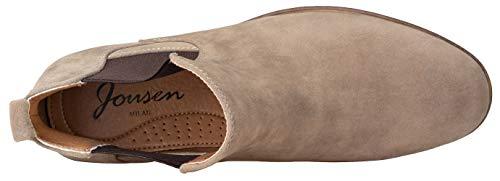 Pictures of JOUSEN Men's Chelsea Boots Elastic Formal Gray 11.5 M US 4