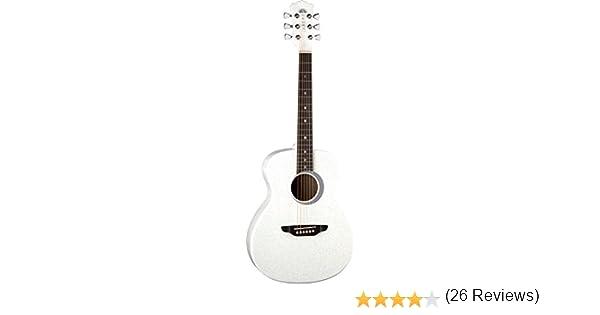 Guitarras Luna AR BOR BLK 3/4 Guitarra acústica de Aurora boreal ...