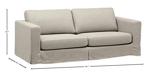 Stone & Beam Bryant Modern Slipcover Sofa, 85