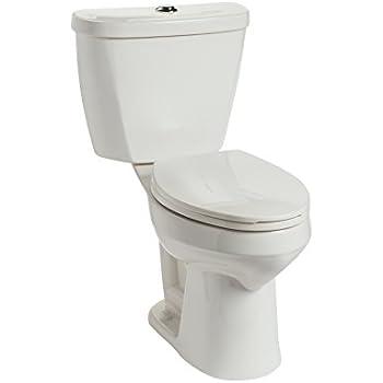 Mansfield Plumbing 384 3386 Wht Summit Dual Flush Toilet