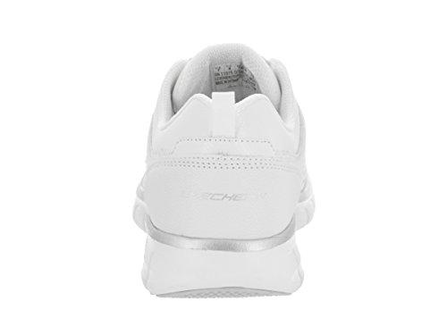 Synergy Sneaker Luck Fashion Sneachers Bianco lady silver Womens 6ZnEwqd0