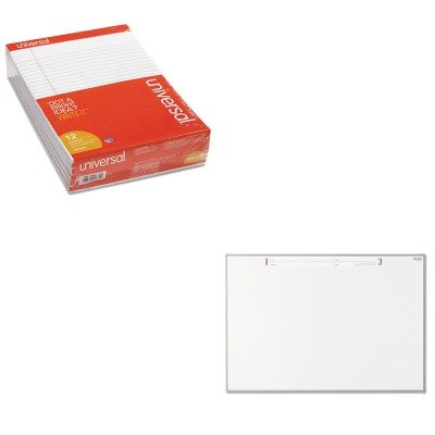 KITPLSSWB1812SWUNV20630 - Value Kit - PLUS MTG Electronic Whiteboard (PLSSWB1812SW) and Universal Perforated Edge Writing Pad (UNV20630) by Plus