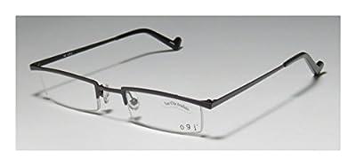 Ogi 2218 Mens/Womens Ophthalmic Classic Shape Designer Half-rim Eyeglasses/Spectacles