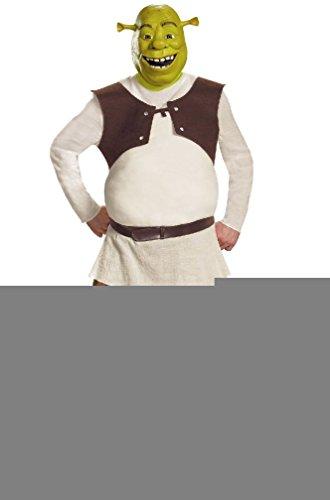 [8eighteen Shrek Deluxe Adult Costume] (Deluxe Adult Shrek Costumes Mask)